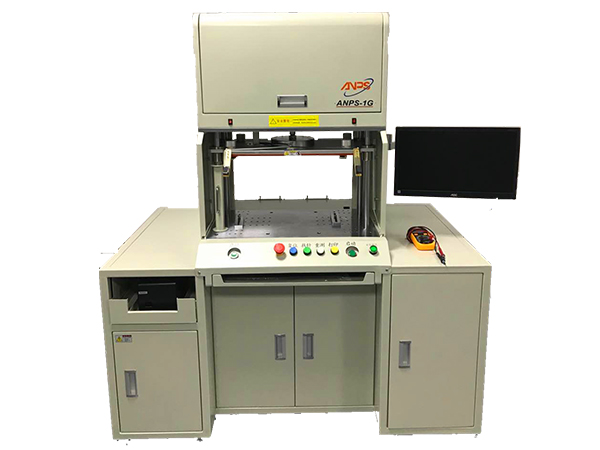 Four-line mass production resistance tester